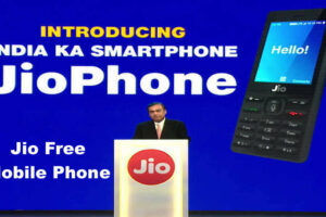 Jio Free Mobile Phone with Unlimited Data, Free With Rs. 1500 Deposit
